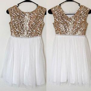 Xtraordinary Sequin Tulle Dress Sleeveless Party 8